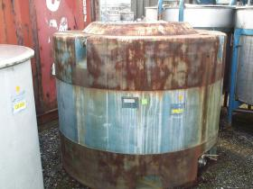1,100 Litre, Mild Steel, Vertical Base Tank