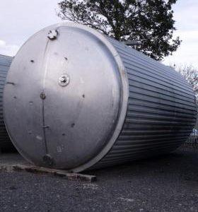 92,849 Litre, Mild Steel, Vertical Base Tank